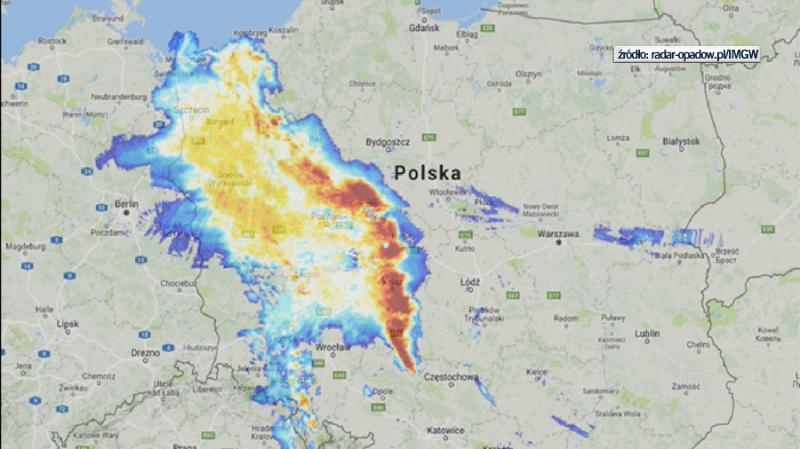 Bow Echo nad Polską