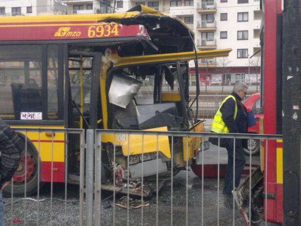 Wypadek autobusów Robczyk/Kontakt24