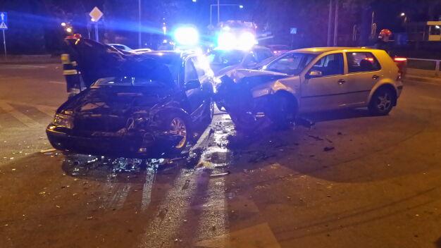 Jedna osoba ranna po wypadku w Rembertowie
