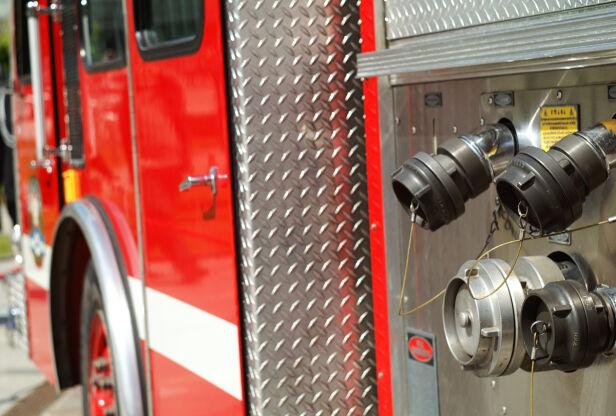 Wóz strażacki jechał do akcji Flickr