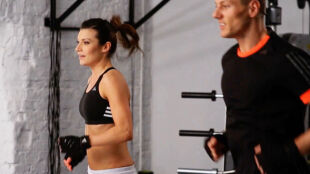 Trening na sprawność i szybkość z Kasią Kępką