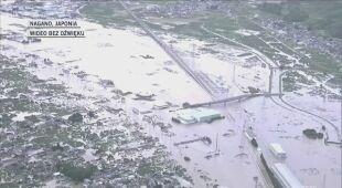 Ogromne zalania w Japonii