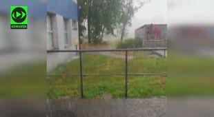 Ulewa w Katowicach
